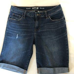 APT 9 Bermuda shorts size 8